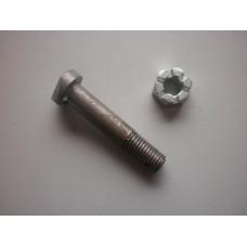 Big end nut & bolt 3/8th 10/4 L12/4 H12/4 16/6