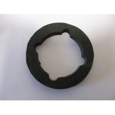 Radiator cap - chromed radiator - rubber seal