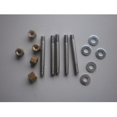 Exhaust Manifold Stud kit 1 - 10/4 side draught