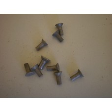 Rivets for centre plate