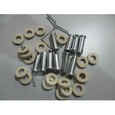 Clevis pin set - L12/4 & 14HP