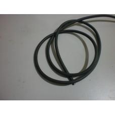 High Tension cable - black - price per meter