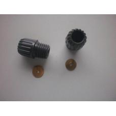 Acorns for plug lead cap end plus split washer set of 5