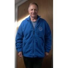Fleece - Round logo - Royal Blue - Extra Large