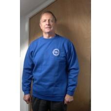 Sweatshirt - Round logo - Royal blue - Medium