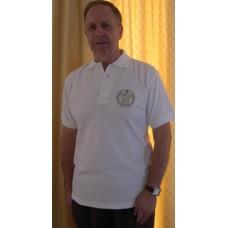 Poloshirt - Golden Jubilee edition- White - Large