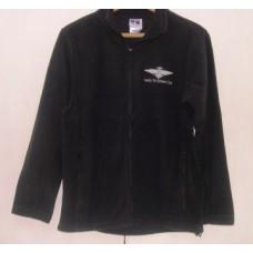 Fleece - Wings logo - Black - Medium