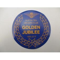 Car Sticker - Golden Jubilee
