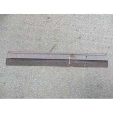 brackets - rear door panel